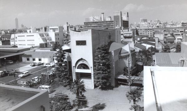 昭和30年に完成した飯田橋道場
